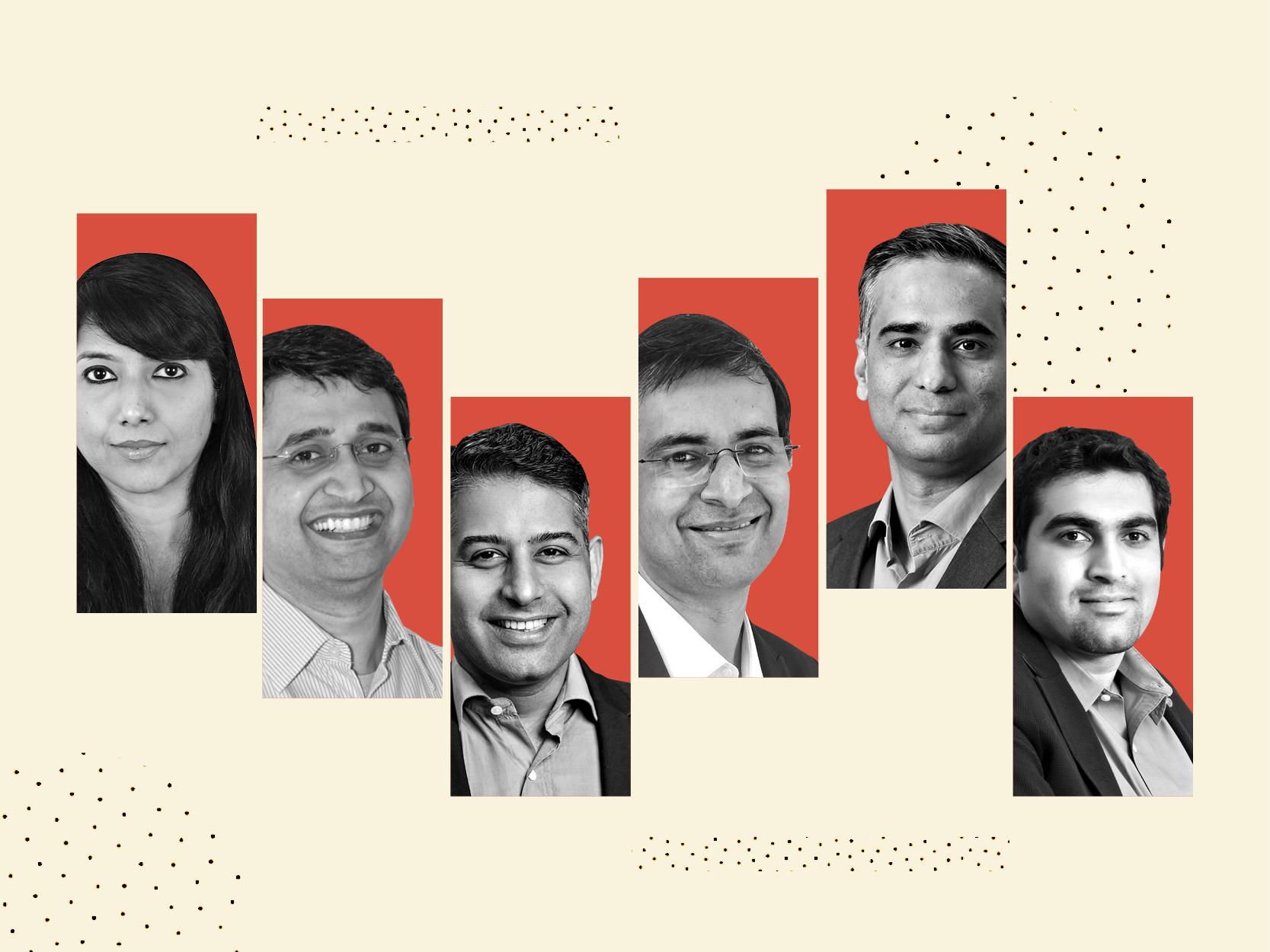 L-R: Shalini Girish, Amod Malviya, Adarsh Menon, Kapil Makhija, Ankur Pahwa, Gaurav Hinduja