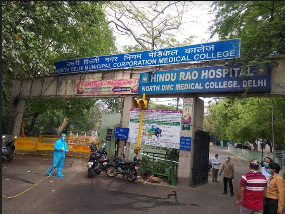 پزشکان هندو رائو دهلی به دلیل دریافت حق اعتصاب غذا انجام می دهند