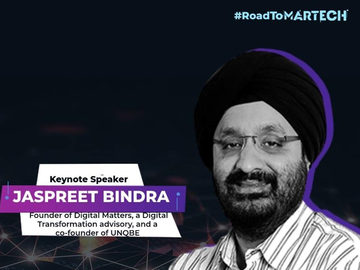 MarTech Asia 2020: Jaspreet Bindra's tenets of digital transformation.