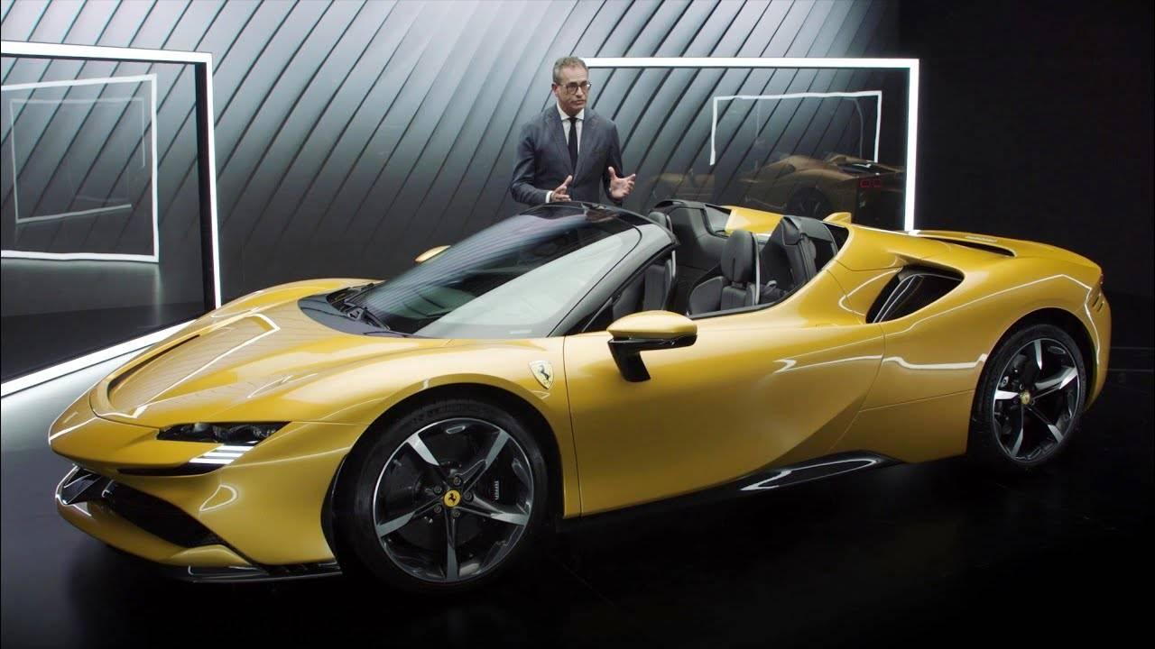 Ferrari Sf90 Spider Ferrari Lifts The Lid On Convertible Version Of Sf90 Stradale Hybrid Auto News Et Auto