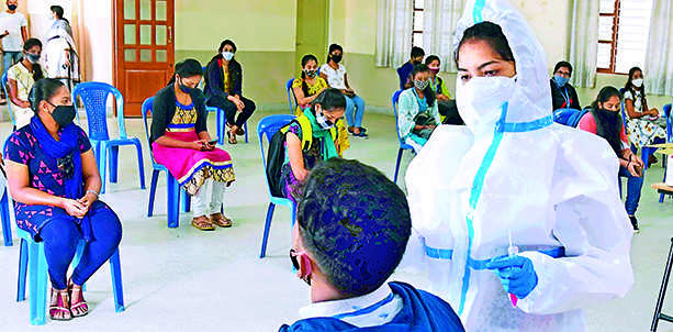 Maharashtra: No let up in Covid-19 tests, 2nd wave likely in Jan