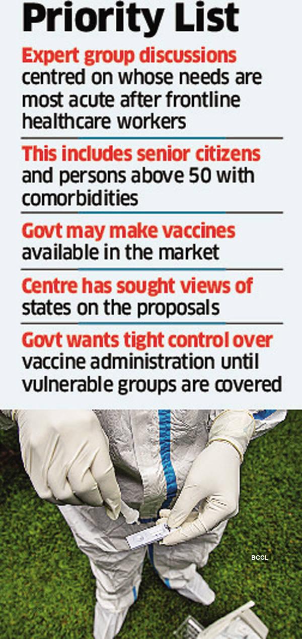 بعد از کارکنان مراقبت های بهداشتی در خط مقدم ، افراد 65 سال به بالا ممکن است واکسن بزنند