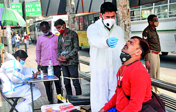 At 46.3K, fresh Covid cases in India at nine-day high
