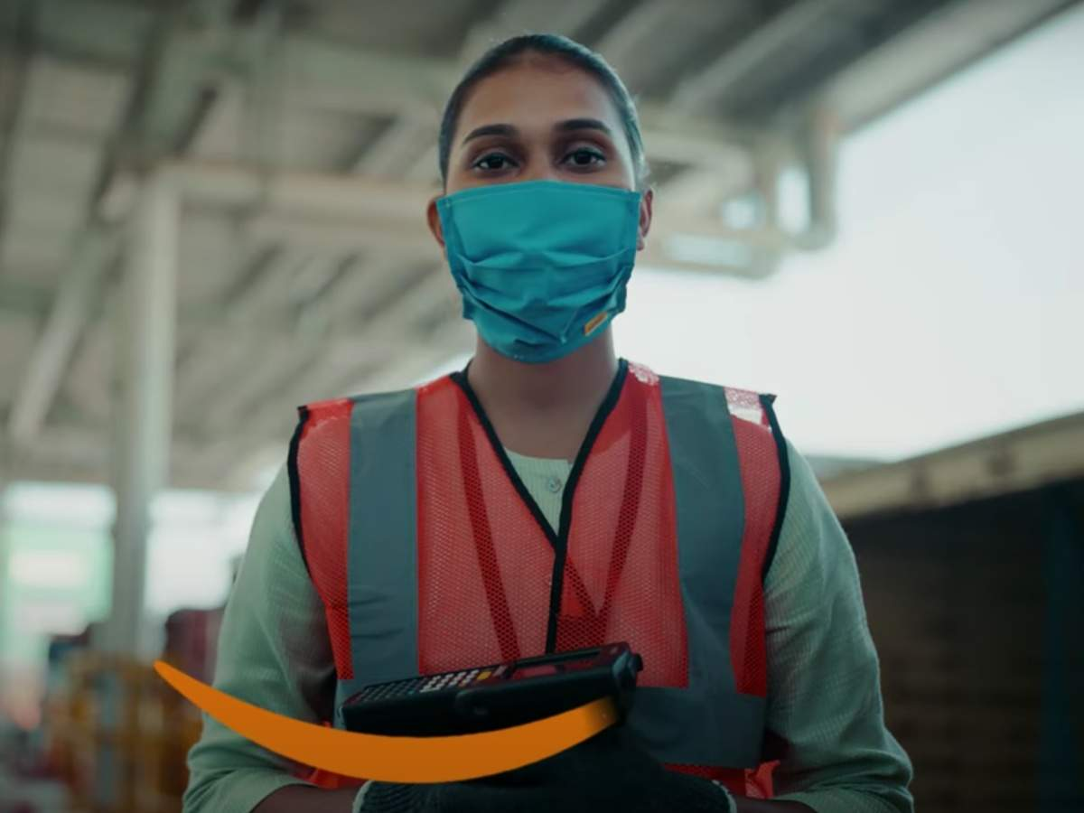The campaign film gives viewers a glimpse into the large work force that is tasked with readying and fulfilling orders behind the scenes