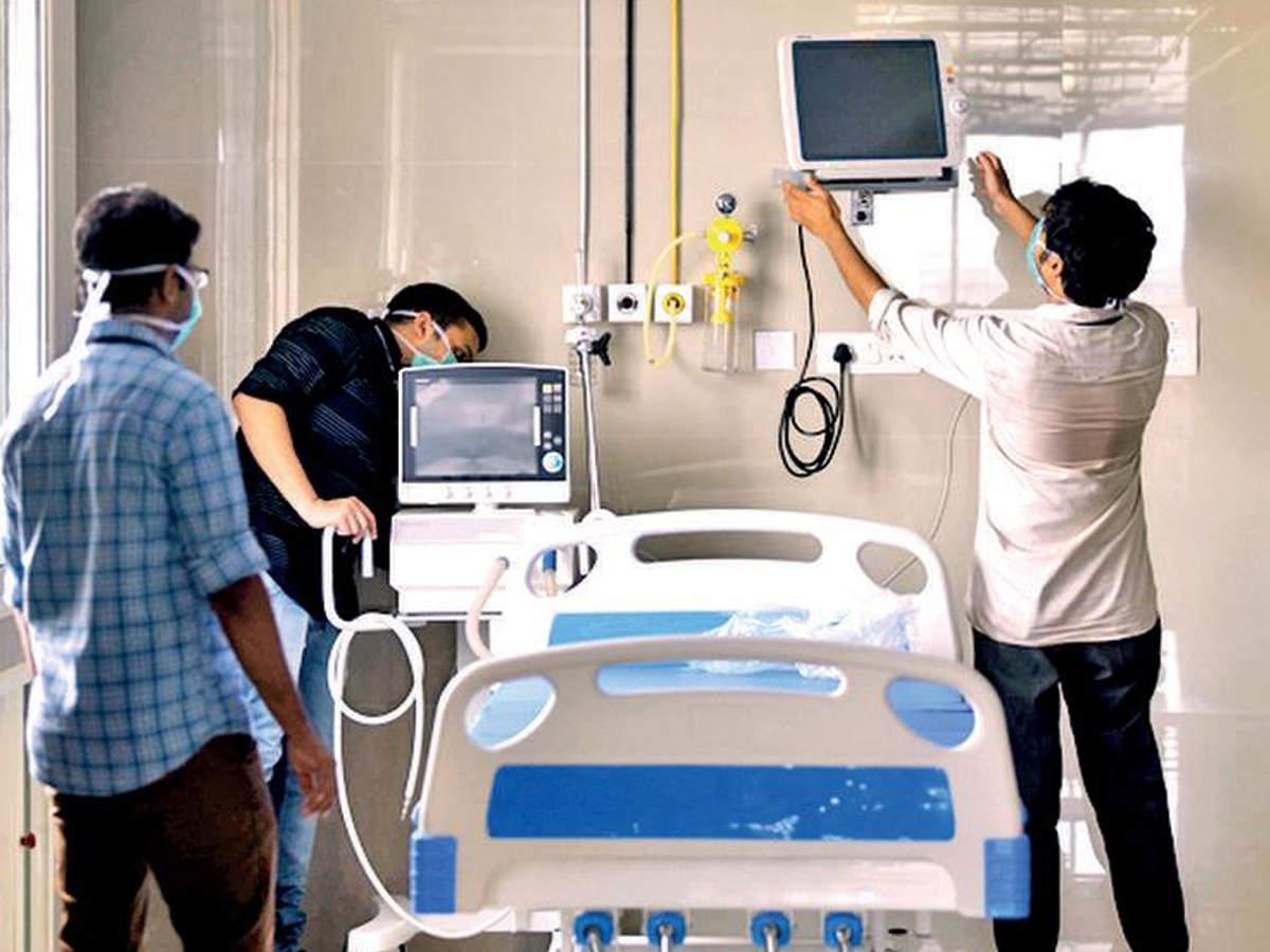 Delhi: 20 ICU ventilator beds added at Burari hospital