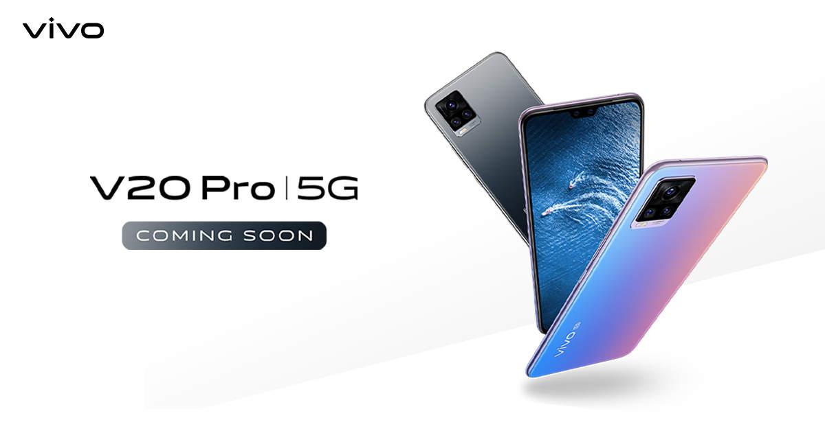 Vivo V20 Pro Vivo To Launch V20 Pro 5g Smartphone In India On 2 December Telecom News Et Telecom