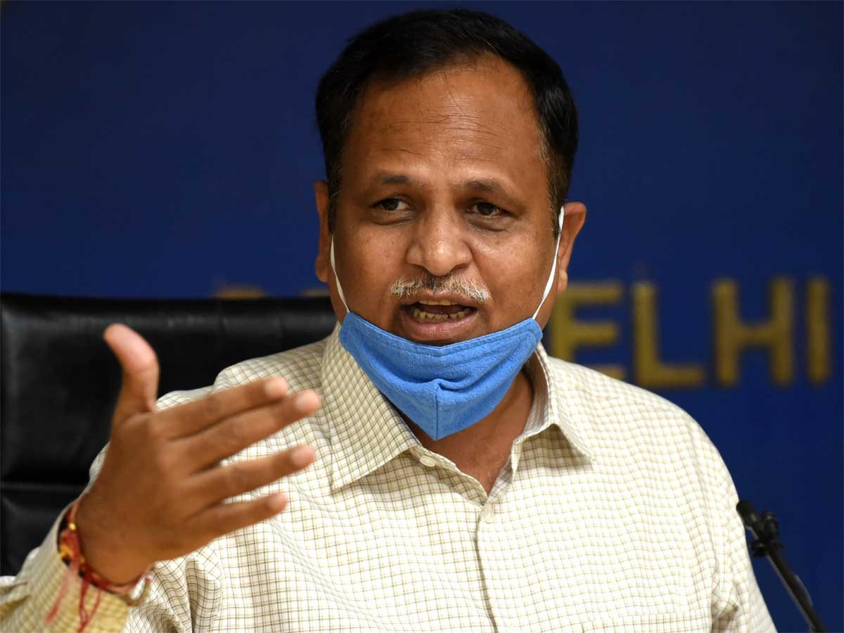 covid-19: Delhi: Covid-19 situation will be under control in 2-3 weeks,  says Jain, Health News, ET HealthWorld