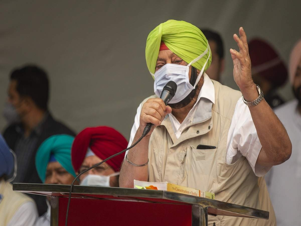 CM Amarinder Singh اولین عکس واکسن ویروس کرونا را در پنجاب گرفته است