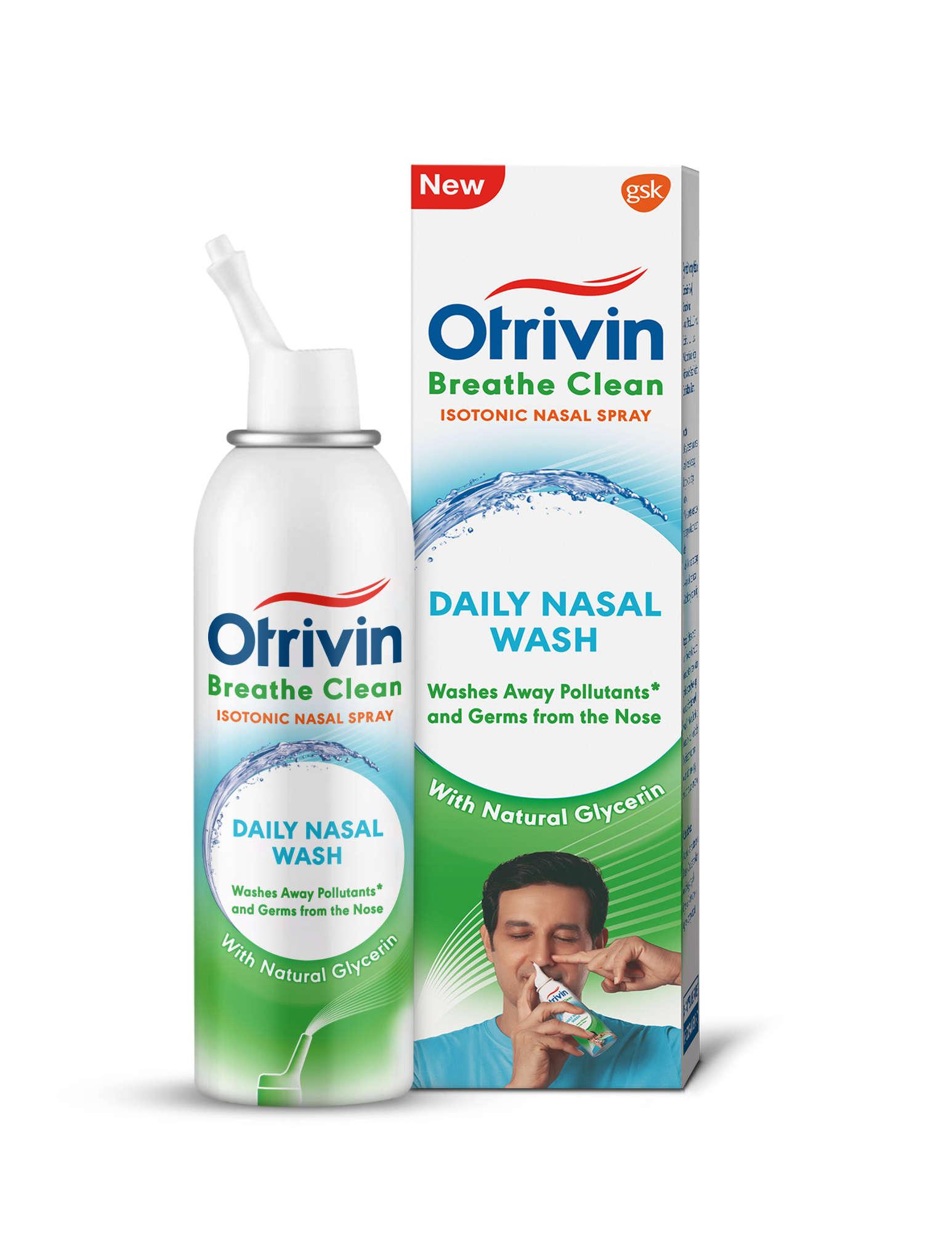 GSK Consumer Healthcare شستشوی بینی Otrivin Breathe Clean Daily را راه اندازی می کند