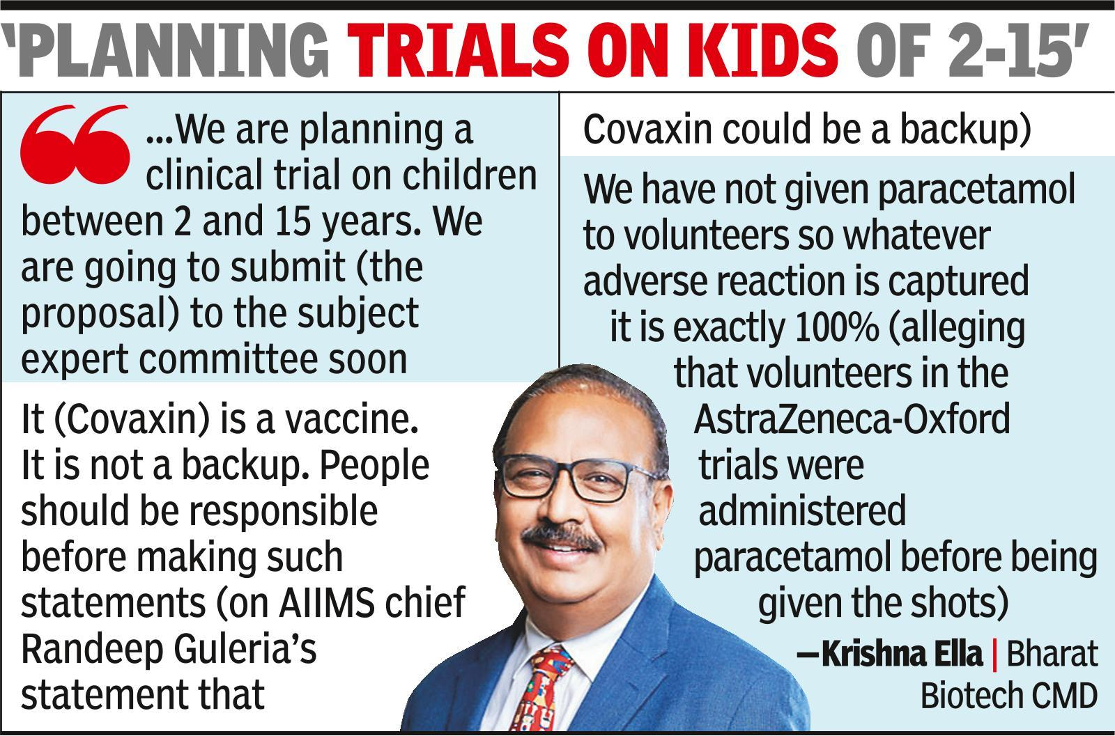 Vaccine war: Bharat Biotech chief lashes out at Serum