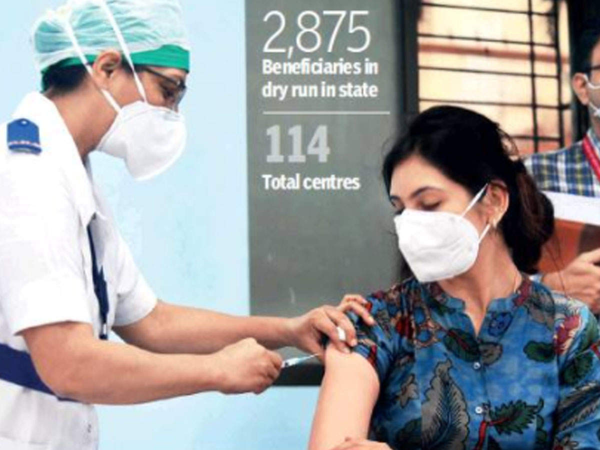 Vaccine mock drill passes sans major glitch, app issues linger