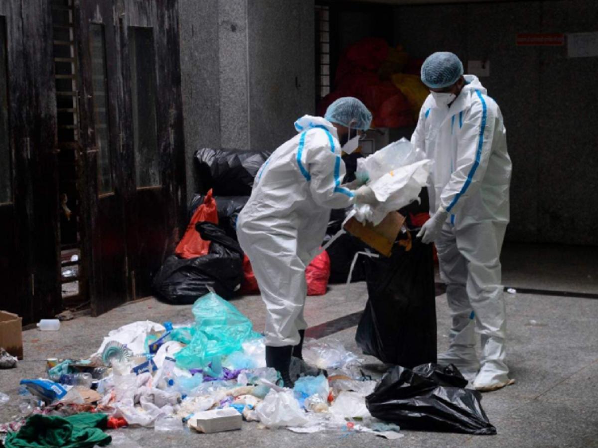 هند طی 7 ماه حدود 33000 تن زباله Covid-19 تولید کرد.  بزرگترین همکار ماهاراشترا