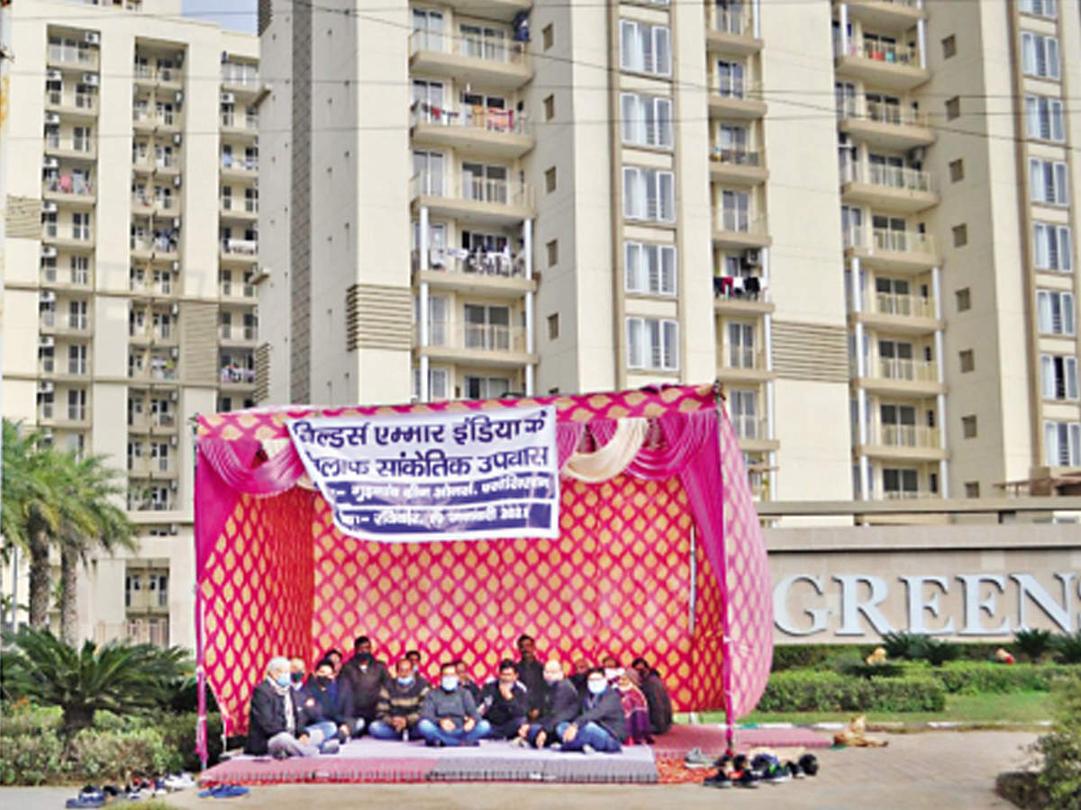 Emaar Gurgaon Greens residents say builder ignoring upkeep issues – ET RealEstate