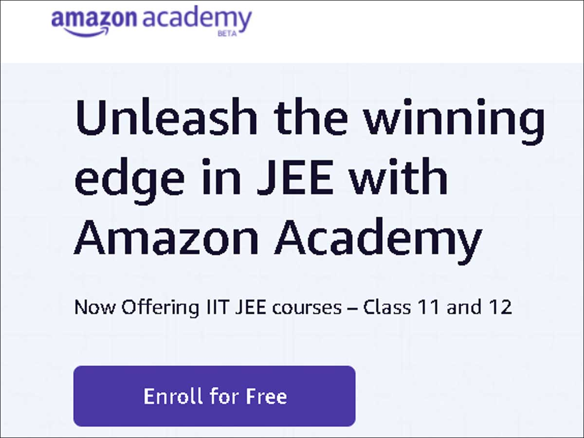 Amazon India launches online academy to coach future engineers