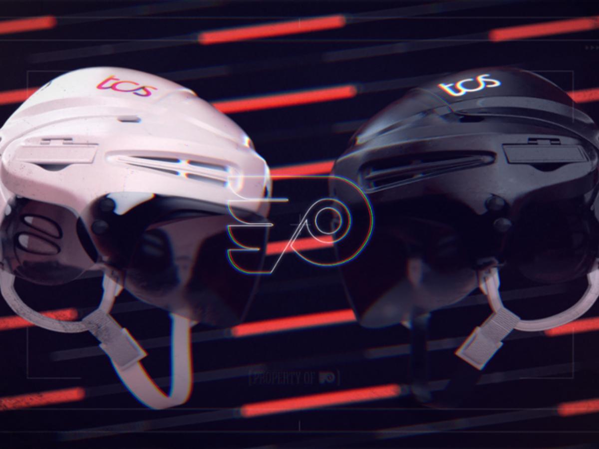 Flyers announces TCS as game helmet sponsor