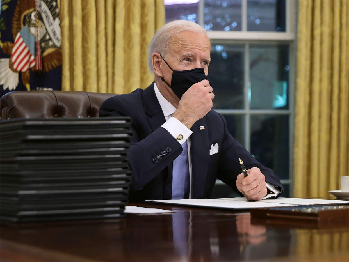 Biden launches '100 days mask challenge'; makes Covid-19 test, quarantine mandatory for people entering US