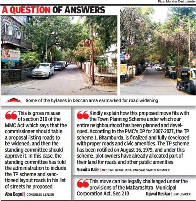 Pune: Town planning scheme roads added for uniform policy, says panel chief