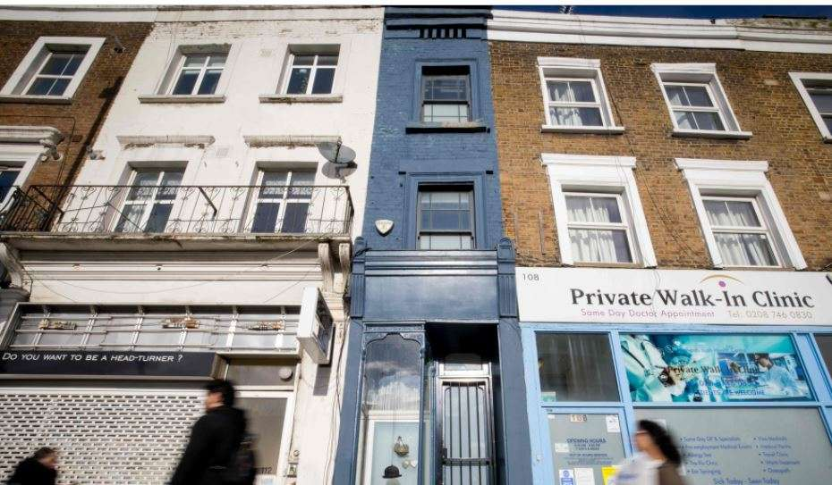 London's thinnest house on sale for $1.3 million – ET RealEstate