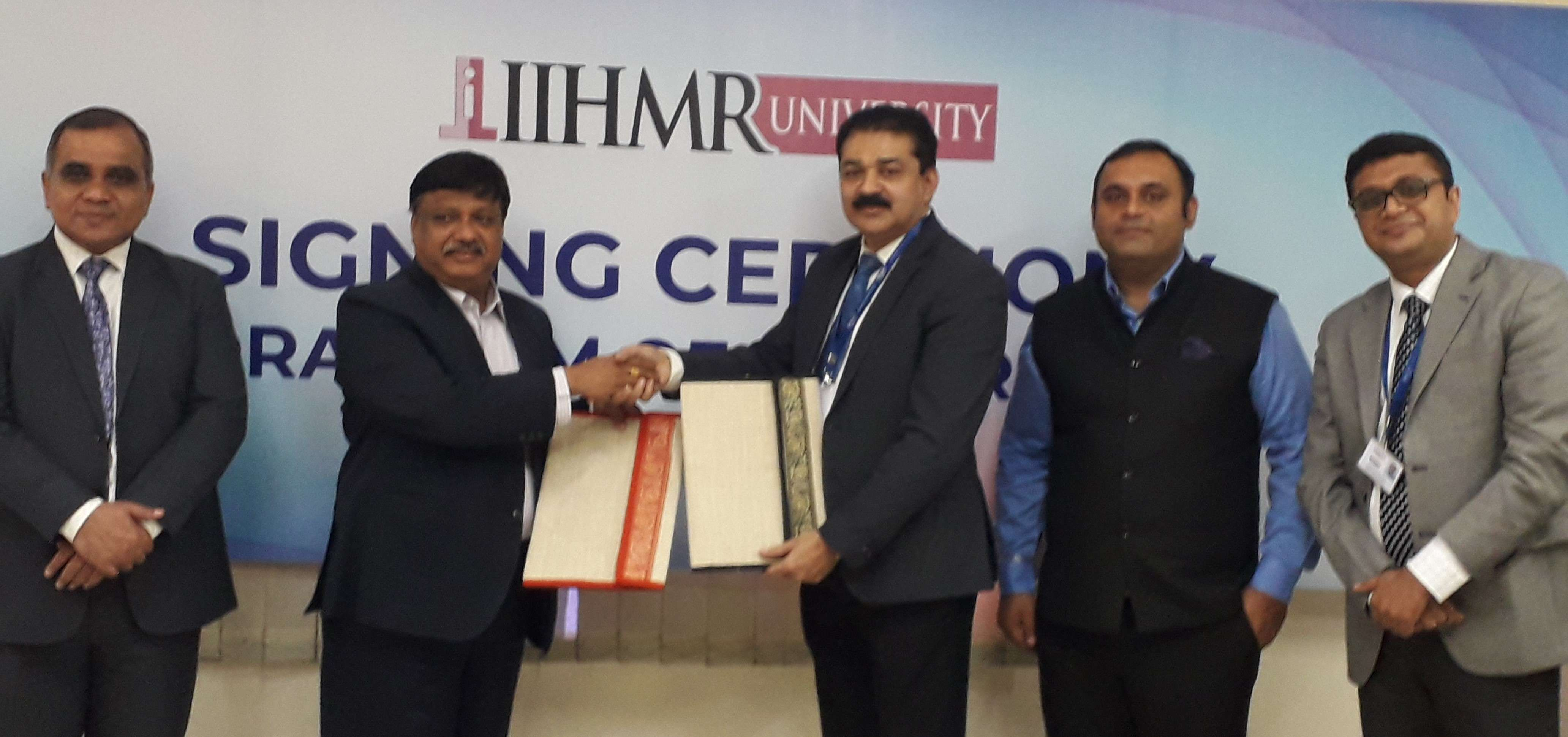 IIHMR University's Strategic Alliance with Shalby Limited