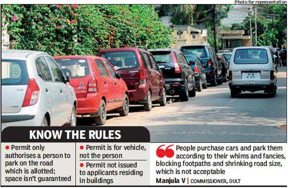 Bengaluru: RWAs back parking permits in residential areas, others fume