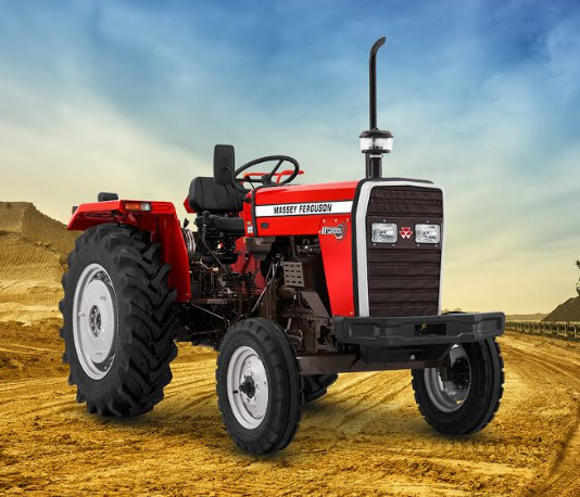 Dynatrack Series tractor