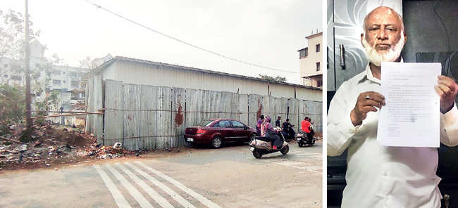 Plot owner in Pune struggles to evict encroachers