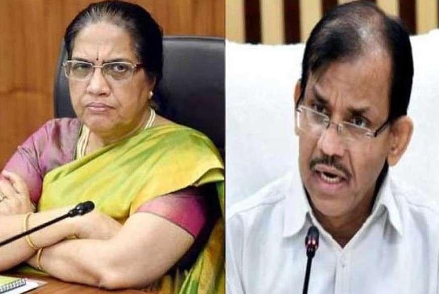 आंध्र प्रदेश: एचसी ने पूर्व सीएस निलम सावनी, पीआर सचिव जीके द्विवेदी को अवमानना के लिए बुलाया