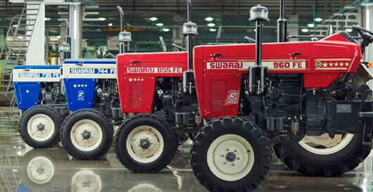 M&M cumulatively rolled out 286,846 tractors between April 2020 and January 2021, up 12 % year-on-year.