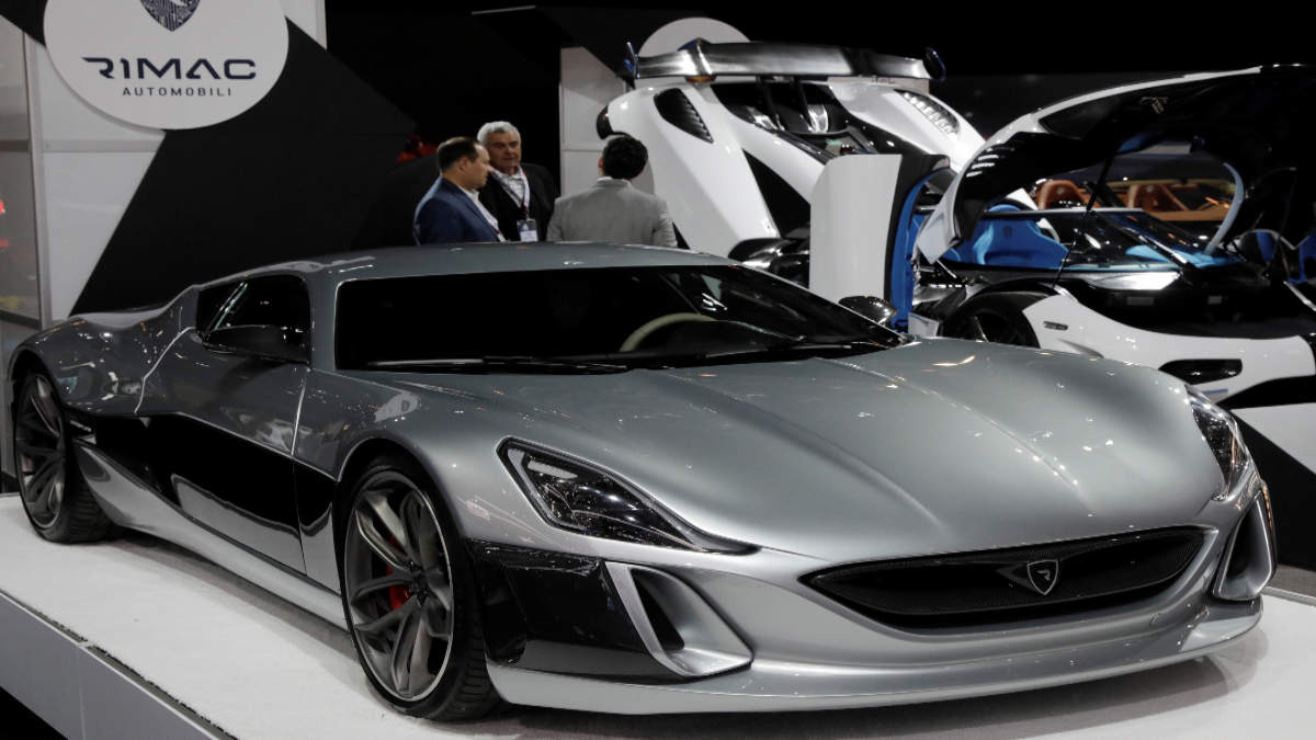 Porsche to participate in fundraising of electric supercar maker Rimac