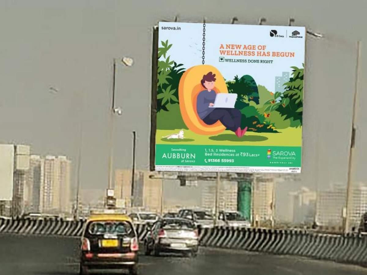 Shapoorji Pallonji crafts animated OOH campaign on wellness