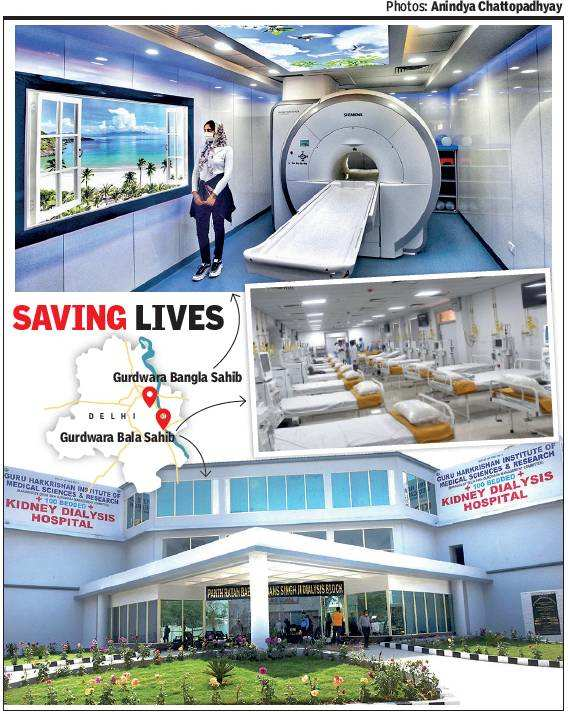 At Delhi gurdwaras, MRI for just Rs 50, dialysis and compassion for free