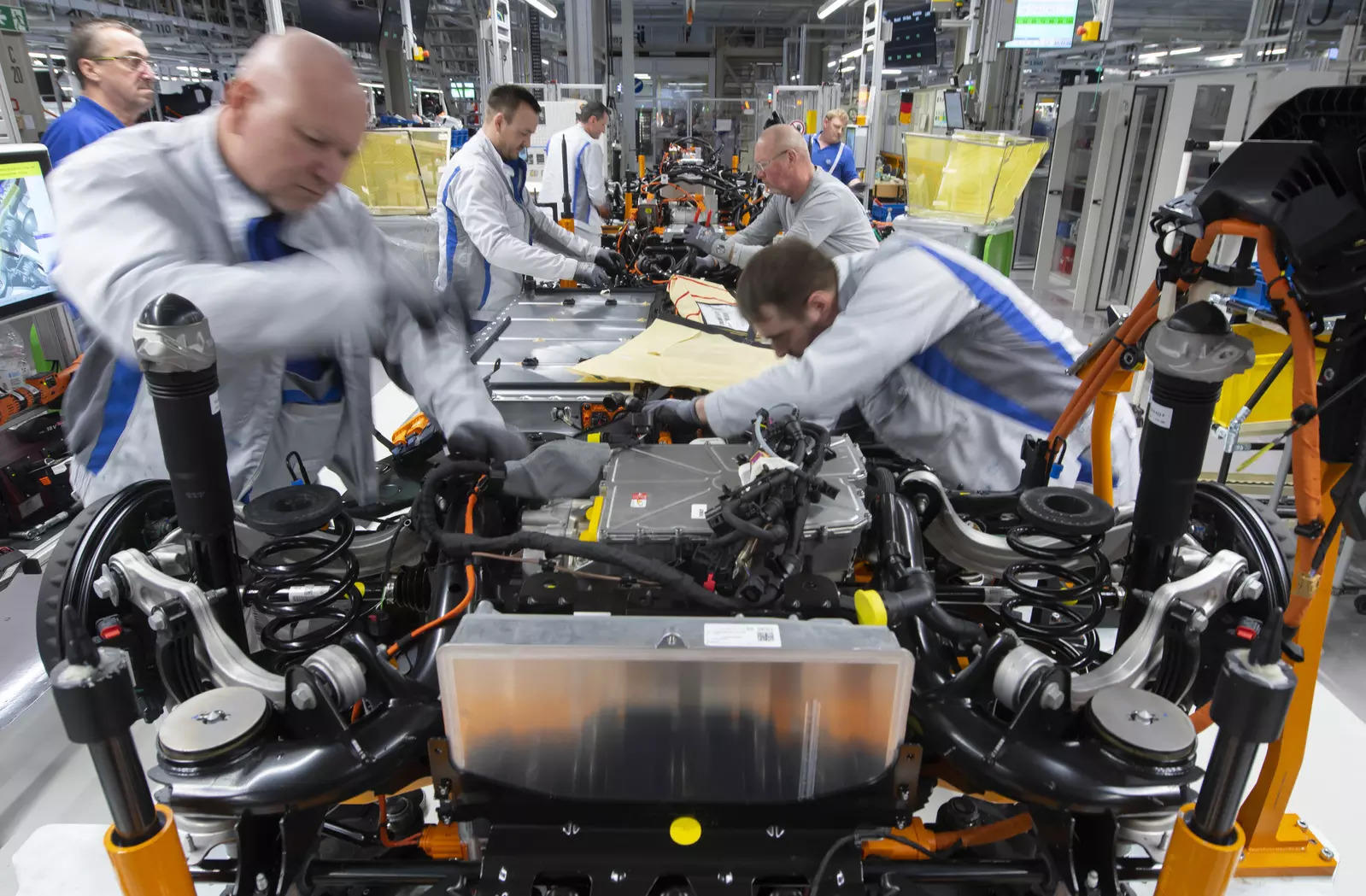 Volkswagen said it would introduce new battery technology and chemistry that aims to make production more efficient and lead to better performance, steps it said would help bring electric cars within the reach of more buyers.
