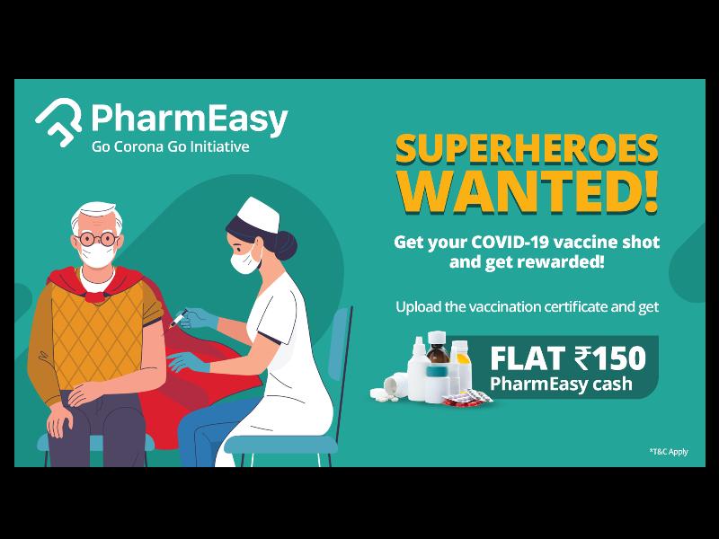 PharmEasy Launches 'Go Corona Go' Initiative to Empower Vaccine Takers