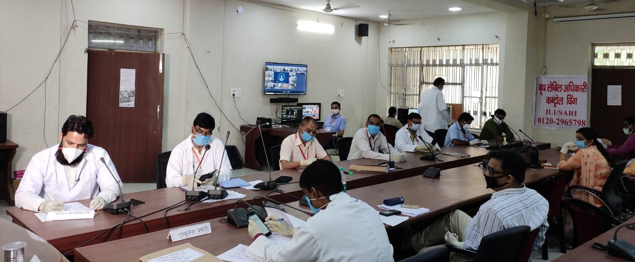 Indore: 24-hr Covid control room monitors home isolated patients