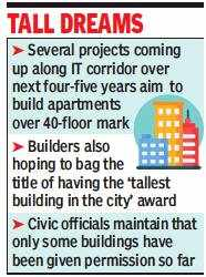 Sky's the limit for flats in Hyderabad as builders race to build 40+ floors