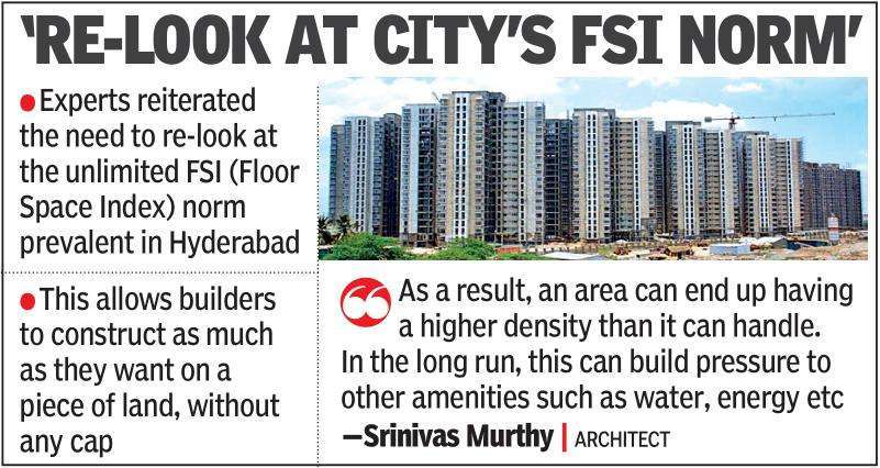 Haphazard and high-density growth can choke Hyderabad: Experts