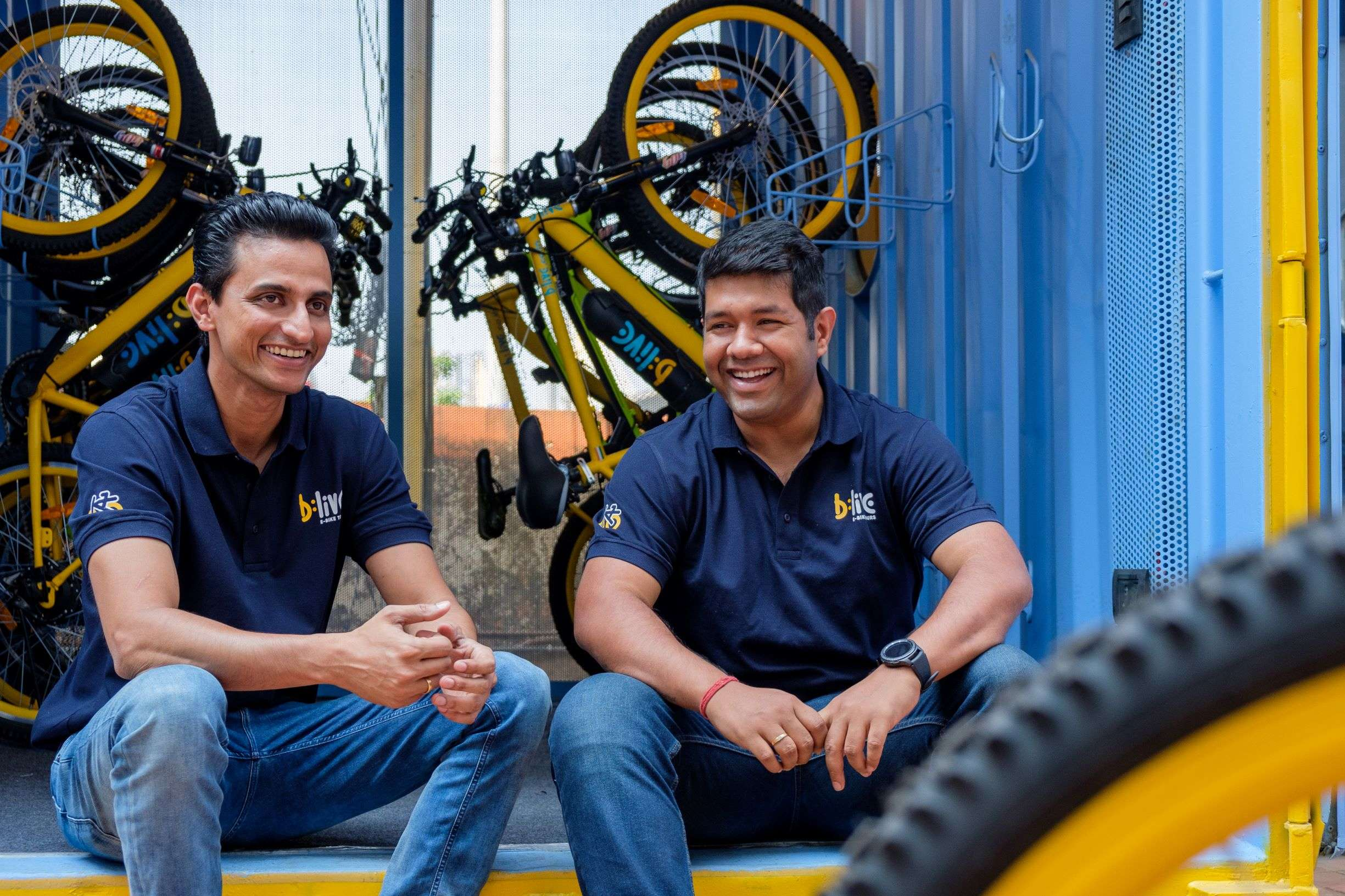"""A travel tech platform that offers immersive experiential tours powered by smart and savvy electric bikes, is how BLive defines itself. Co-founded by Samarth Kholkar and Sandeep Mukherjee, the brand is also an Airbnb Experiences host, and says that listing on Airbnb gives them the """"much-needed visibility"""" to take their initiative to a wider audience, as a startup."""