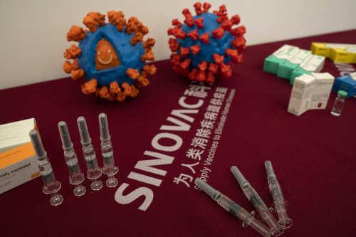 China vaccine maker Sinovac says doubles production capacity