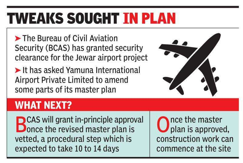 Noida International Airport gets security nod, wait now for plan approval