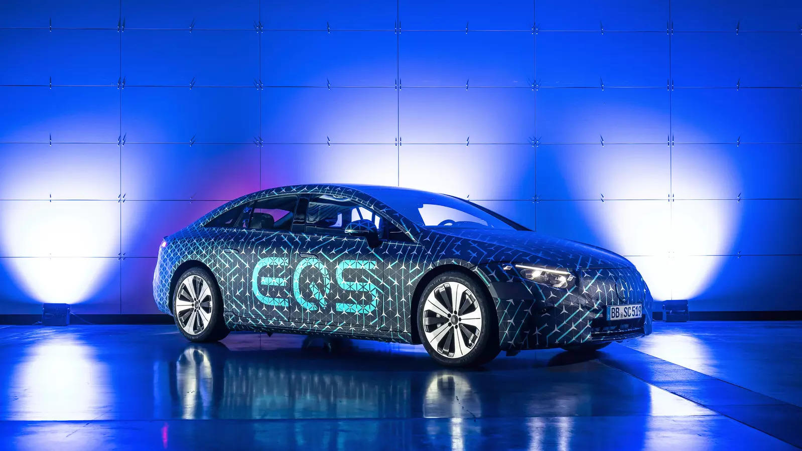 Mercedes rolls out luxury electric car in duel with Tesla
