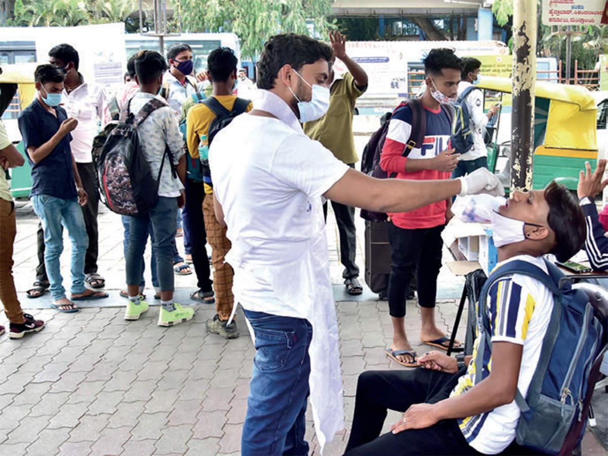 99.4% of Bengaluru's patients have no symptoms