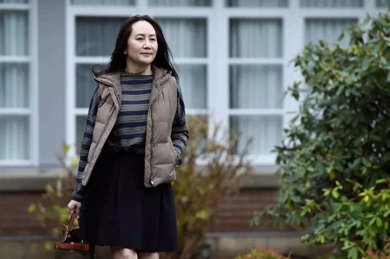 Huawei Technologies Chief Financial Officer Meng Wanzhou. (file photo)