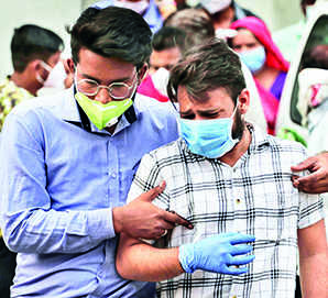 3,286 deaths in last 24 hrs push toll past 2-lakh mark