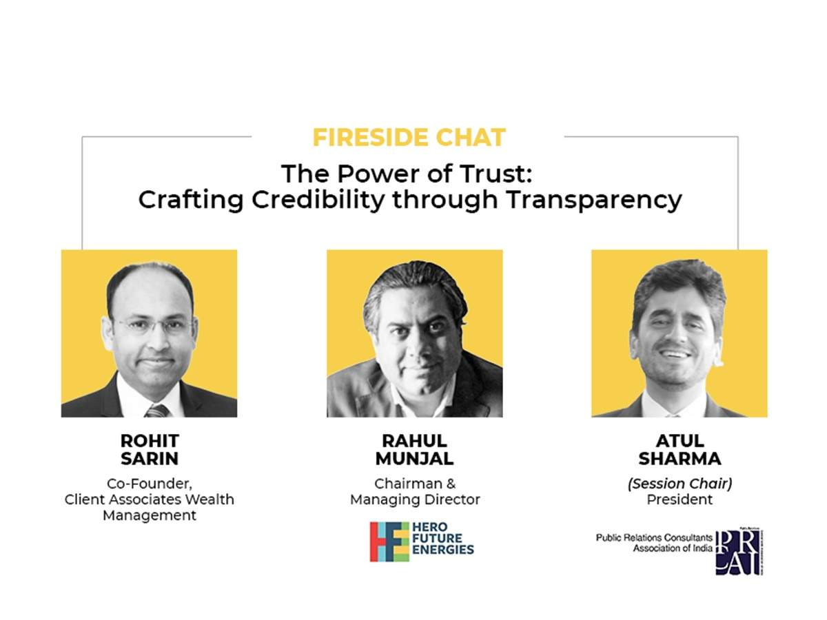ICS 2021: The power of trust; Crafting credibility through transparency