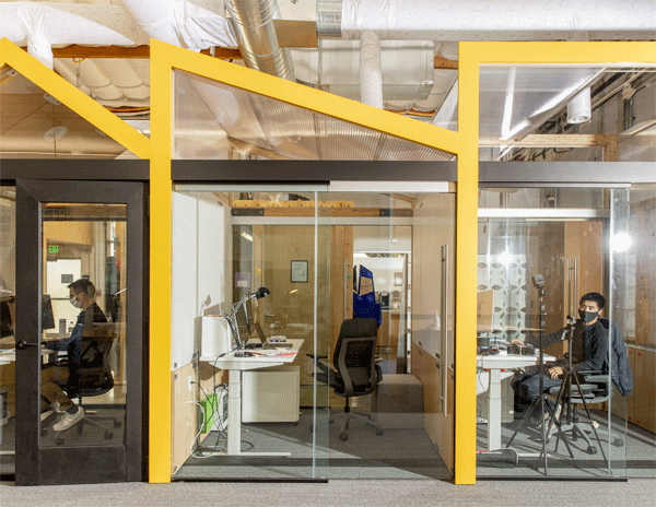 Google has some ideas for the post-pandemic office. They include re-imagining a happier and more productive workplace
