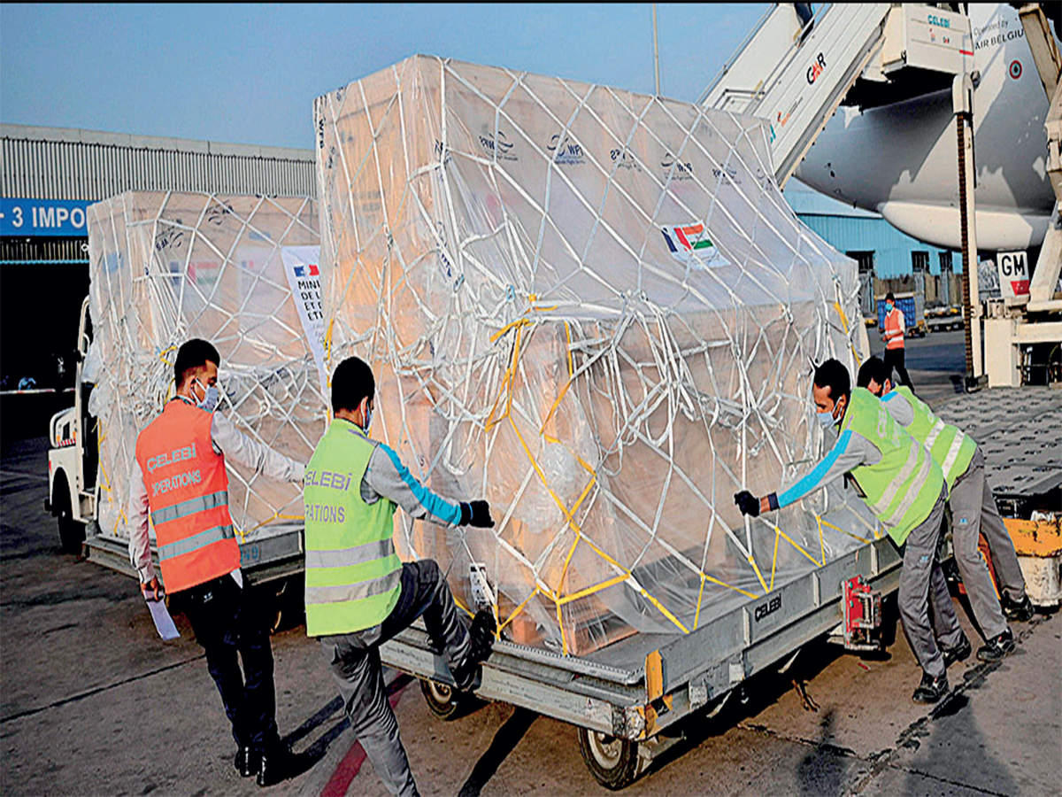 100 oxygen concentrators arrive in India from Poland as part of Covid assistance