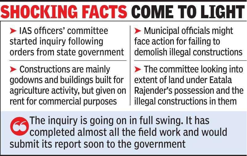 Telangana: Panel finds 200 illegal buildings in Devarayamjal