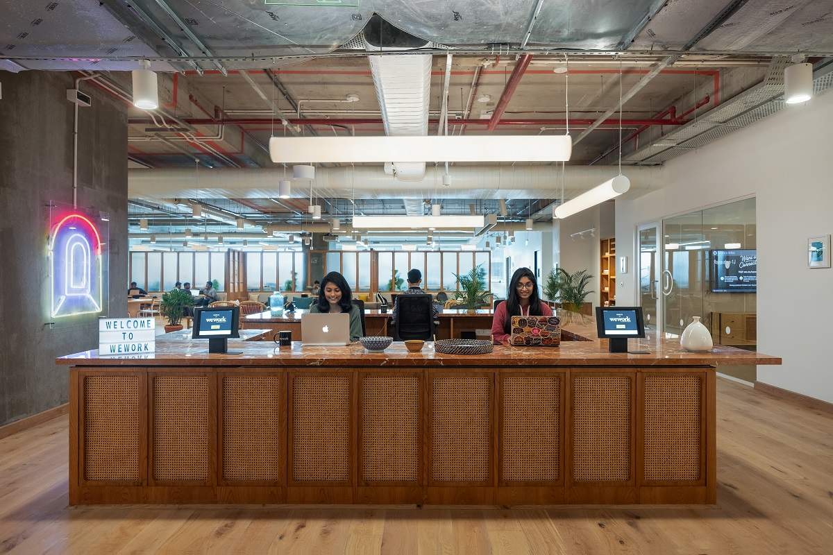Large open workspaces with modern design, WeWork's Rajapushpa Summit is an ideal workplace experience for Millennials
