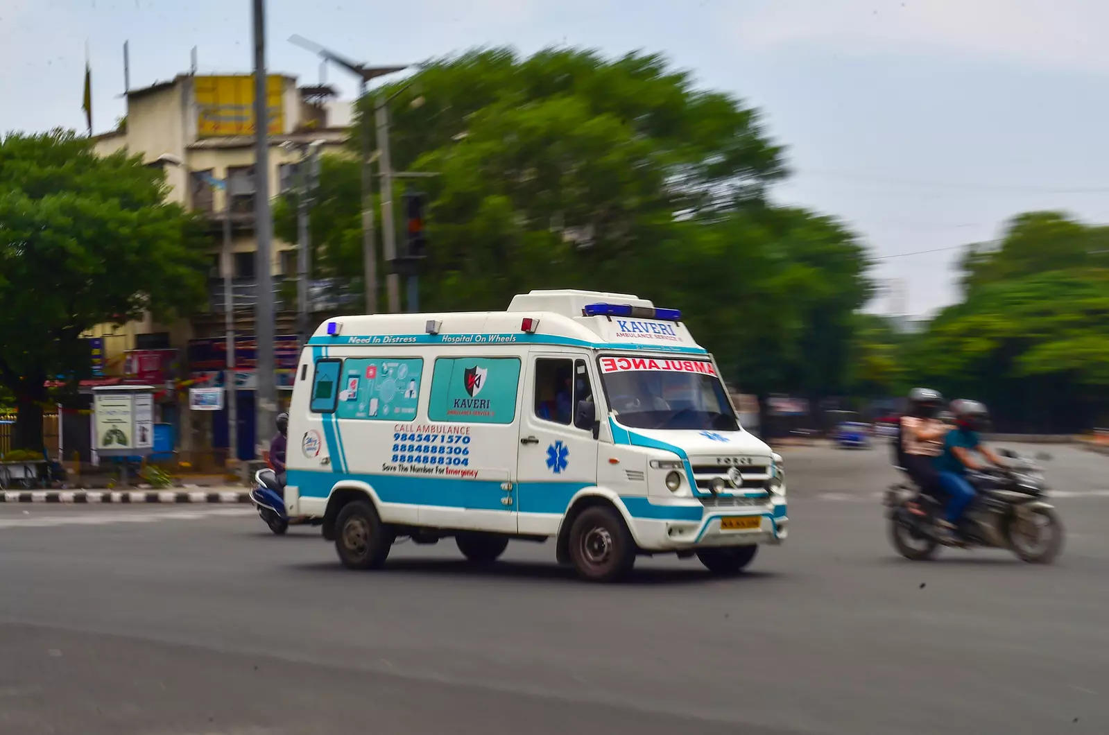 Hyderabad: Ambulances linked to Covid bed dashboard