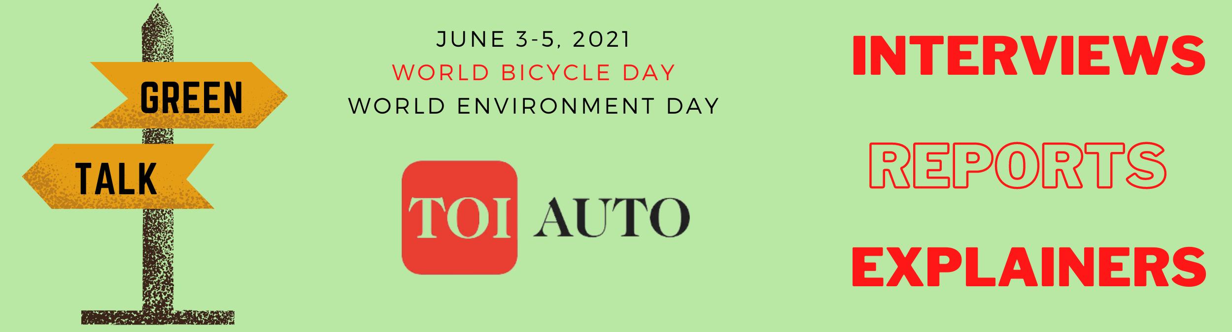 TOI Auto Green Talk: Electrifying mobility will support national goals, says Toyota's Gulati – ET Auto